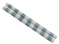 Et Al Designs: Bands Taper-White/Blue