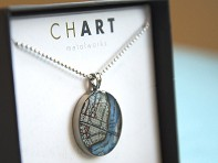 CHART Metalworks: Customizable Pewter Necklace