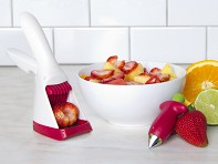 Chef'n: Strawberry Slicer and Huller Set