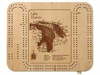 Lake Art: Cribbage Board