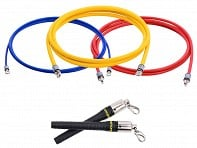 CrossRope: Double Under Domination Jump Rope Set