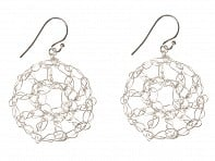Radka Design: Open Pattern Earrings