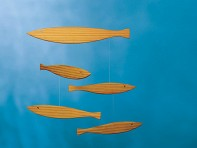 Flensted: Floating Fish Mobile
