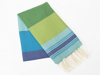 Scents and Feel: Multi Turquoise Towel
