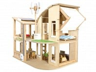 PlanToys: Green Dollhouse Set