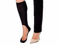 Keysocks: Knee High No Show Socks- 2 Pairs