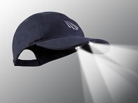 PowerCap: LED Lighted Hat - Navy