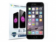Tech Armor: Apple iPhone 6, 6 Plus Premium- Ballistic Glass Screen Protector