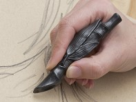 Batle Studio: Graphite Writing Sculptures