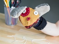 Cate & Levi: Recycled Wool Puppet Kit