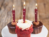 Let Them Eat Candles: Edible Chocolate Candles - Dark