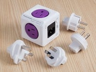 PowerCube: Single Outlet Travel Adapter