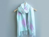 Brit + Co.: DIY Dyed Scarf Kit