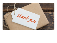 Email Gift Card: Thank You