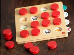 Memory Match - Wood Concentration Games