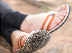 Bear Foot Sandals - Tire Tread Style Flip-Flops