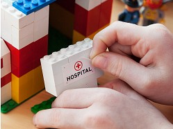 BrickStix - Reusable Building Block Stickers