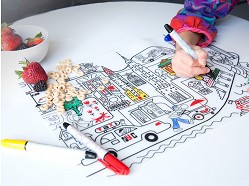 Modern-twist Mark-Mat - Dry-Erase Placemat