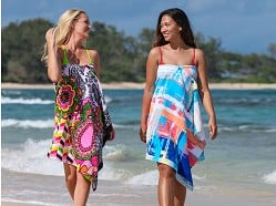 Simple Sarongs - Convertible Beach Towel Cover-Up