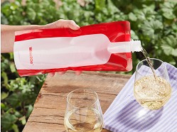 Wine2Go - Foldable Wine Bottle