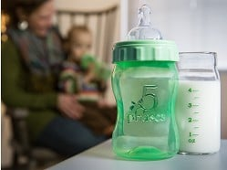 5 Phases - Hybrid Glass Baby Bottle