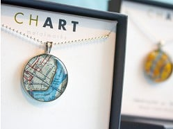 CHART Metalworks - Nautical Chart & Map Jewelry