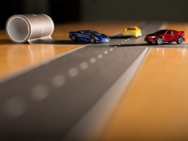 InRoad Toys PlayTape - Roads & Rails
