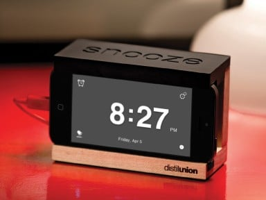 Distil Union: The Snooze Alarm Dock - iPhone Alarm Dock