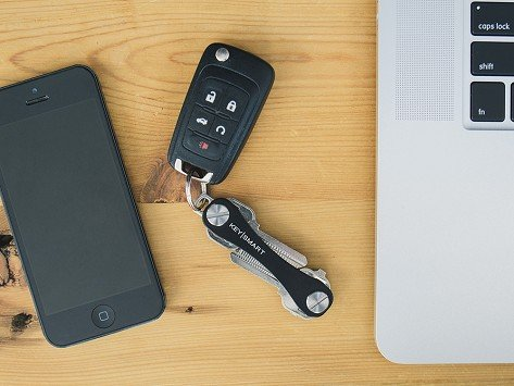 Key Holder Compact Folding Organizer for Your Keys Replace Your Bulky Keychain R