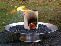OneLogFire: Table Top Fire Pit