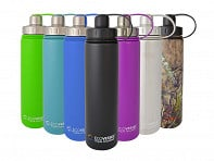 Eco Vessel: BOULDER TriMax Water Bottle - Case of 6