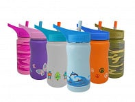 Eco Vessel: FROST Kids TriMax Insulated Water Bottle - Case of 6