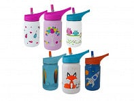 Eco Vessel: SCOUT Kids Water Bottle - Case of 6