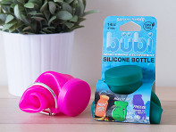 Bubi Bottle: Scrunchable Water Bottle - Cardboard Packaging