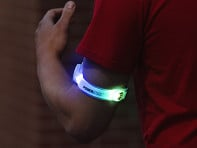 4id: PowerArmz Light Up Armband - Sample