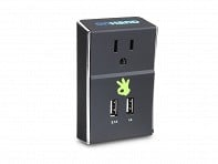 OnHand: Wall Outlet with Dual USB Ports - Case of 6