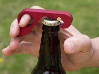 One Handed Bottle Opener, Premium Scratch Resistant