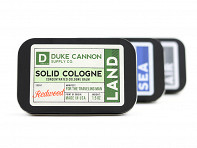 Duke Cannon: Solid Cologne Retailer Kit + Free Samples - Case of 9