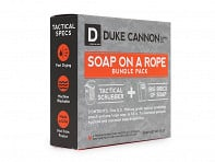 Duke Cannon: Tactical Soap Scrubber + Soap Bundle Pack - Case of 4
