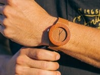 Makore & Red Sanders Watch