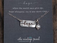 Word Charm Necklace