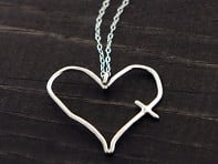 His Word is In My Heart Necklace