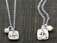 Hope in the Lord Necklace