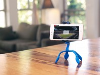 miggo: Miggo Pictar Splat Flexible Tripod 3-in-1 - blue