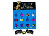SiliDog: The Silent Pet Tag Refill Pack - Case of 24