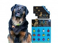 The Silent Pet Tag Starter Pack with Display - Case of 12