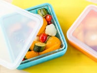 Frego: Glass & Silicone Food Storage Container