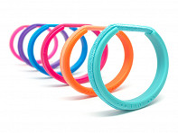 bittersweet: Teens Color Hair Tie Bracelet