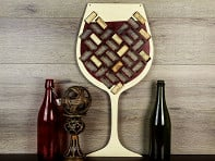 Wine Cork Trap - Wine Glass