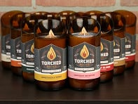 Torched Beer Bottle Candle Starter Kit - Case of 24